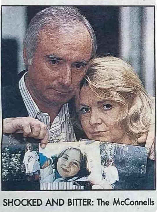 Lexie's parents, The McConnellls