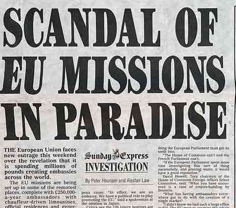scandal of eu missions in paradise