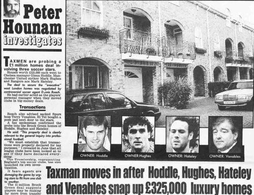 Taxmen Probe Soccer Stars